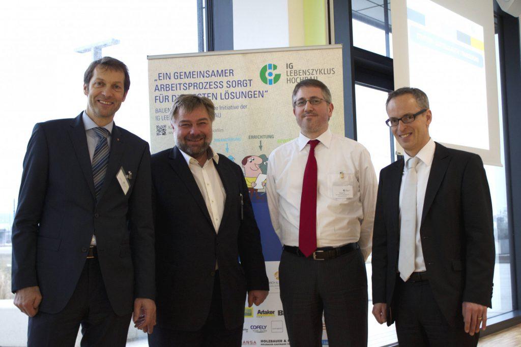 Bauherren-Foren in Aspern und Wels