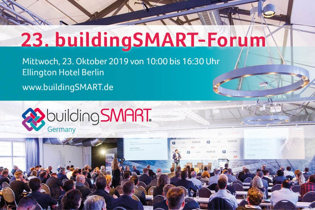 23. buildingSMART-Forum in Berlin
