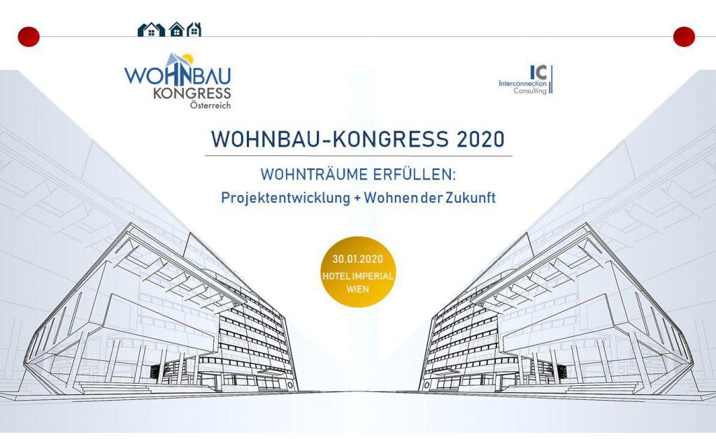 Wohnbau-Kongress 2020 in Wien