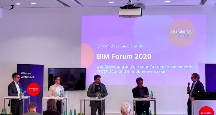 BIM Panel-Diskussion: Was ist der Mehrwert für Errichter und Betreiber?